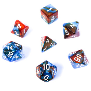 Magma Reef -  RPG Dice Set, CritKit