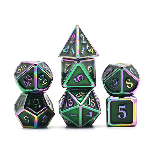 The Metal Dice Subscription Box -  RPG Dice Set, CritKit