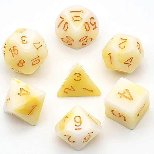 Orc Tusk -  RPG Dice Set, CritKit