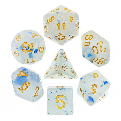 Blue Jelly -  RPG Dice Set, CritKit