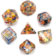 Load image into Gallery viewer, Regenerate Orange -  RPG Dice Set, CritKit