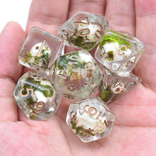 Load image into Gallery viewer, Skull Dice -  RPG Dice Set, CritKit