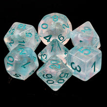 Load image into Gallery viewer, Snowstorm -  RPG Dice Set, CritKit