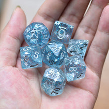 Load image into Gallery viewer, Starlight - Blue -  RPG Dice Set, CritKit