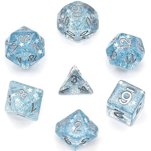 Starlight - Blue -  RPG Dice Set, CritKit
