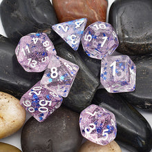 Load image into Gallery viewer, Starlight - Pink -  RPG Dice Set, CritKit