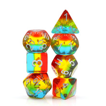 Load image into Gallery viewer, Sunset Dusk -  RPG Dice Set, CritKit