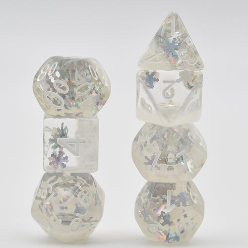 Seasons - Winter -  RPG Dice Set, CritKit