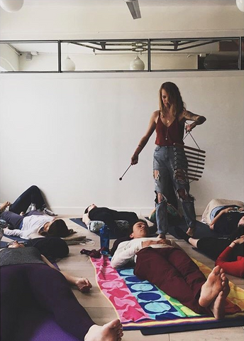 We chatted with upcoming Sound Bath facilitator, Megan Marie Gates, about this immersive + meditative offering: