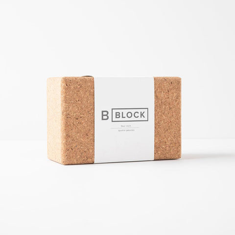B Yoga Cork Block