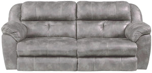 290fiCnJ Dark Earth Power Sofa and Loveseat