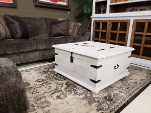 Arco Double Trunk Coffee Table