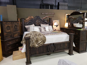 LTX-CAM100 FI-M Cactus Super Mansion Queen Bed Set