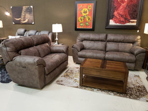 376 FI-CnJ Powered Reclining Sofa and Loveseat