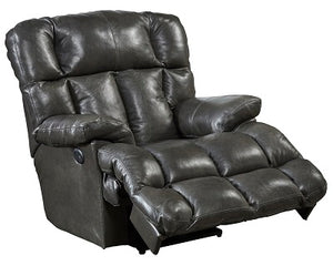 5875 FI-CnJ Leather Rocker Recliner