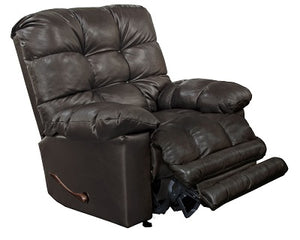 5887 FI-CnJ Leather Rocker Recliner