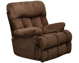 5899 FI-CNJ Power Lay Flat Recliner with Adjustable Headrest and Lumbar, Heat and Massage