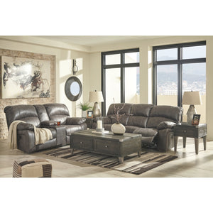 6271FI-A Power Sofa & Loveseat with Adjustable Headrest