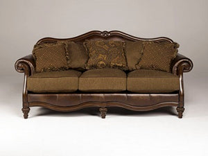 954fiA Sofa and Loveseat