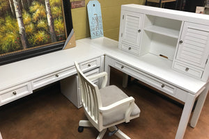 BOC 458-486 FI-PH White Desk Set