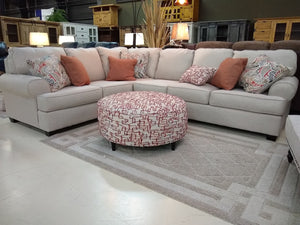 203 FI-A 3pc Fabric Sectional