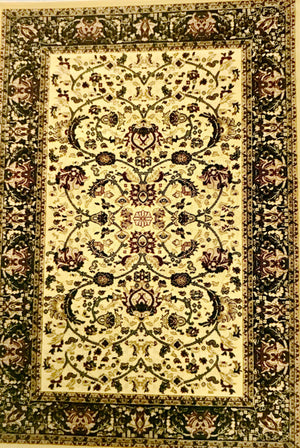 PT2368FIP Persian Nain Red & Cream Rug 5 x 7