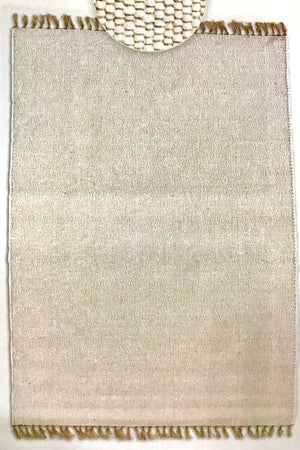 "VE61892FIP Virginia Berber Ivory Rug 7' 10"" x 10'4"""