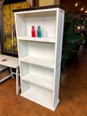 BKS-283 FI Tall 4 Shelf Bookcase
