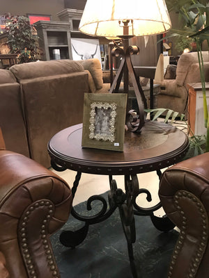 T493FI Round End Table