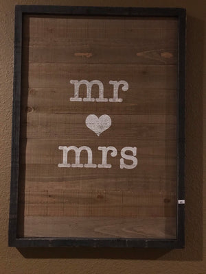 Mr & Mrs Wood Art
