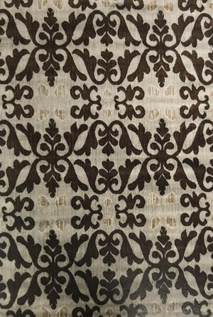 EE4369FIA Elegance Cream and Brown Rug 5x7