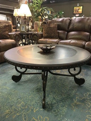 T493FI Round Cocktail Table