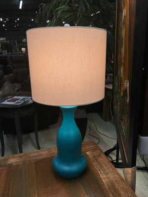 L354195T Lamp Table Turquoise