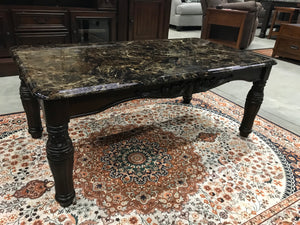 T644 FI 3 Piece Occasional Table Set/ Faux Marble