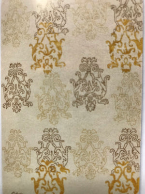 AE3569FIP Aspire Wool with Silk Damask Cream/Gold 5x8 Rug