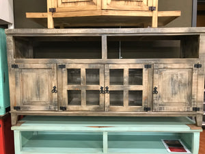 "Com19FI 72"" TV Entertainment Stand Smokey"