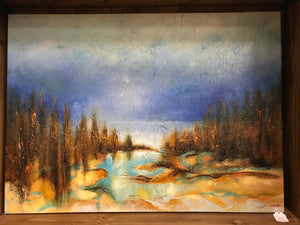 Gallery Wrap Landscape Oil on Canvas Art