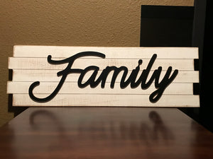 Family Wood Art