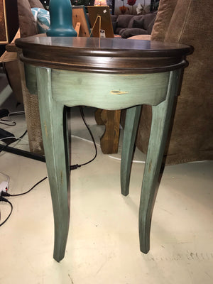 28A2152FI-P Round End Table with Dark Top