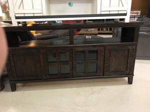 "Com19FI 60"" TV Stand Dark Brown"
