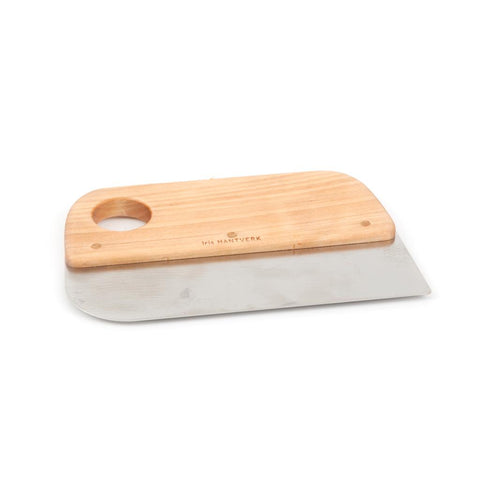 Iris Hantverk dough scraper, Beech wood and stainless steel, bread making, danish design, olea living