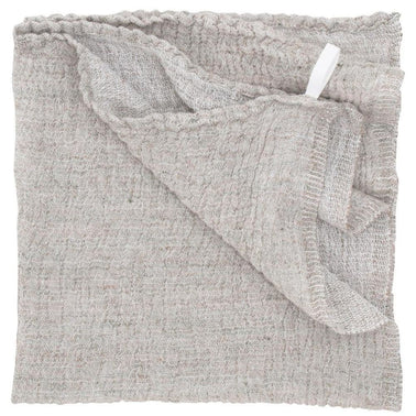 Natural linen and tercel cotton towel, handmade in Finland by Lapuan Kankurit for Olea Living. Scandinavian design.