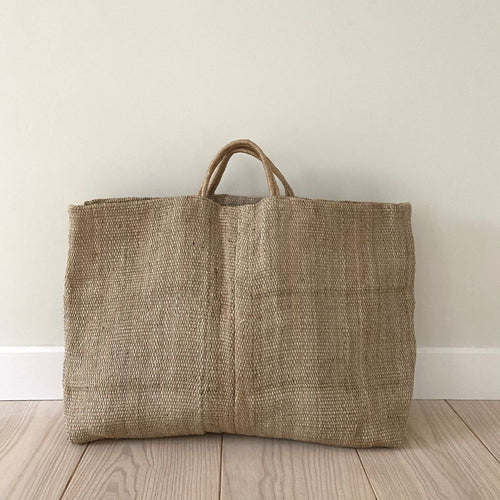 Jute large hold-all from Maison Bengal for Olea Living
