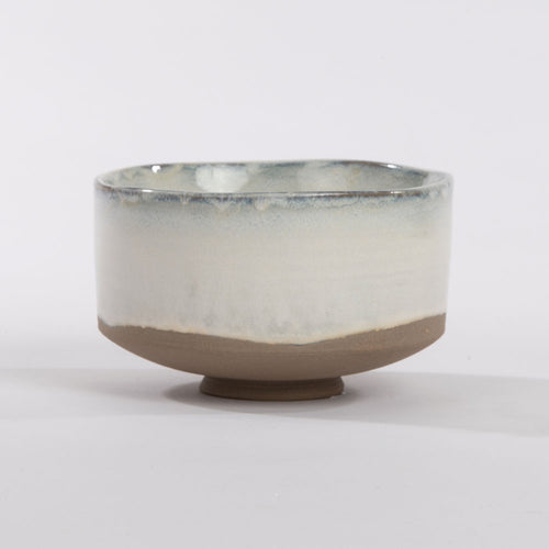 Partially glazed, off white bowl, Merci collection from Serax for Olea Living.