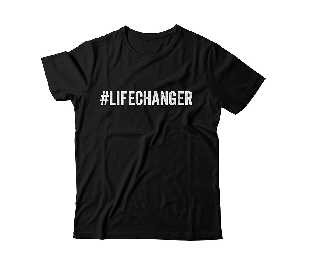 #lifechanger Unisex T-Shirt - Life Changing Biologics