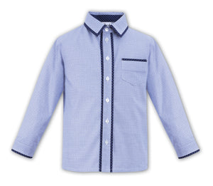 Sarah Louise Previous Season SALE - Blue Shirt 010596