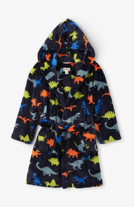 BLACK FRIDAY - ALL ITEMS £20.00 - Hatley Dino Heard fleece robe