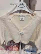 Load image into Gallery viewer, Sarah Louise Previous Season SALE - Ivory Bow Bolero 692