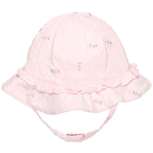 Load image into Gallery viewer, NEW SS19 Emile et Rose Patricia rosebud girls Sun hat in pink