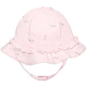 NEW SS19 Emile et Rose Patricia rosebud girls Sun hat in pink